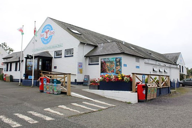 anglesey sea zoo from the outside
