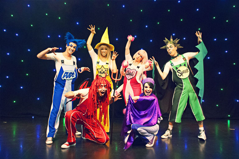 stage performance at butlins
