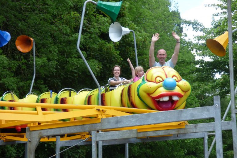 caterpillar rollercoaster ride