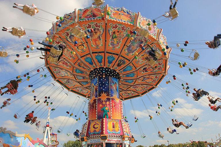 swings ride at flambards