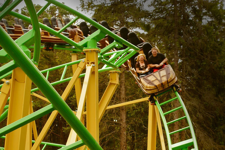 landmark forest rollercoaster
