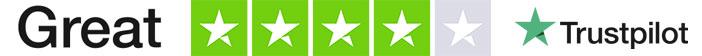 trustpilot rating light