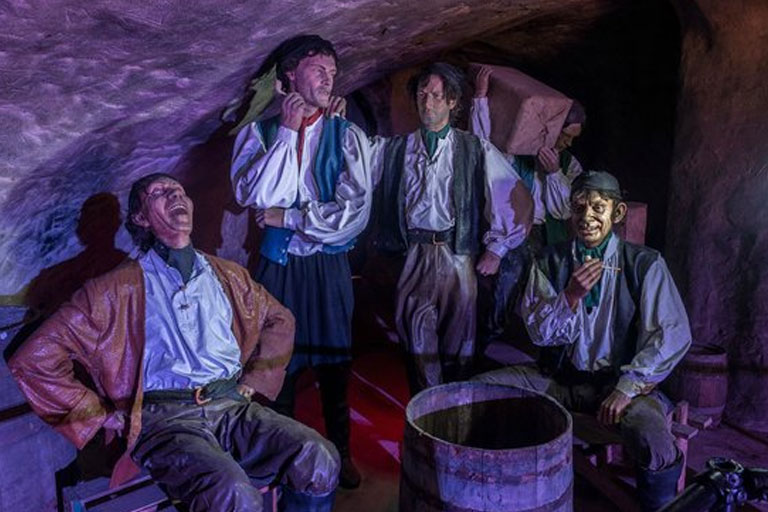 pirates laughing smugglers adventure