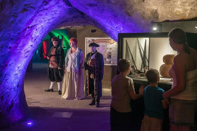 museum at smugglers adventure