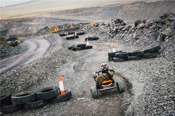 Zip World Quarry Karts