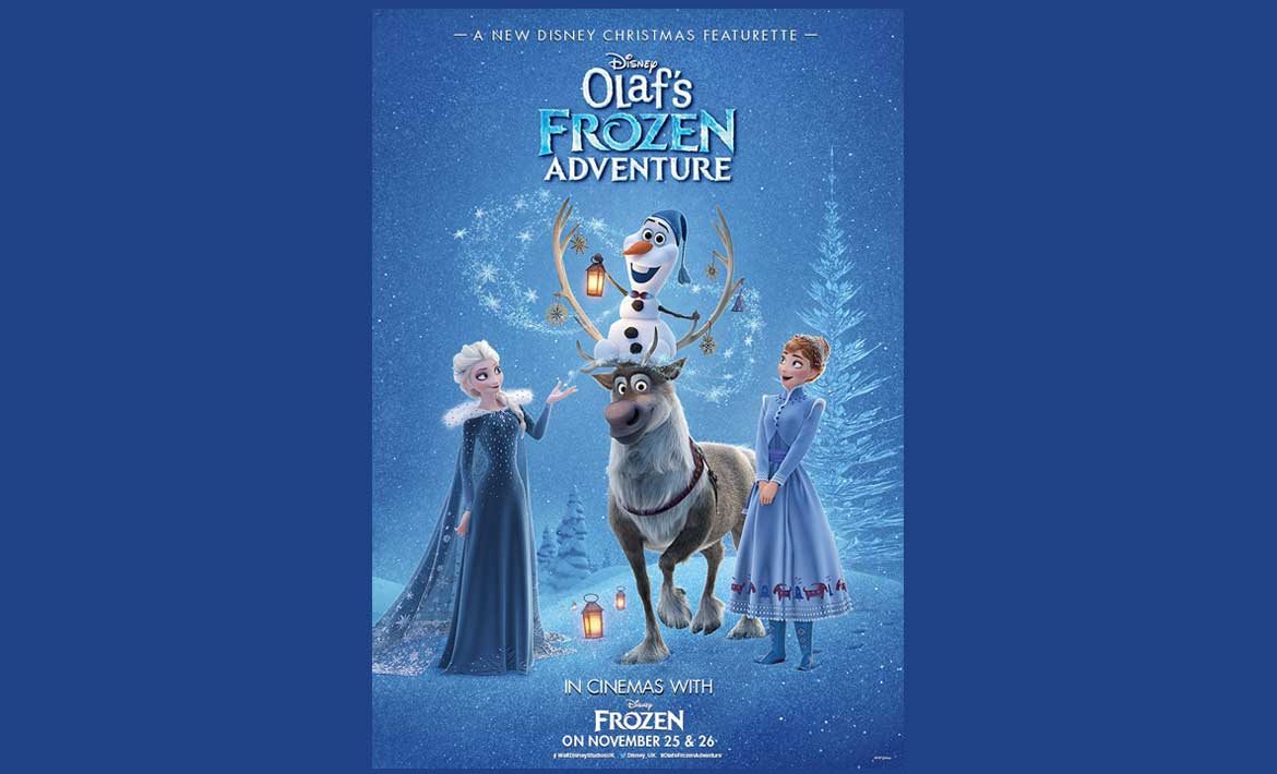 Be The First To See Frozen + Olaf's Frozen Adventure header image