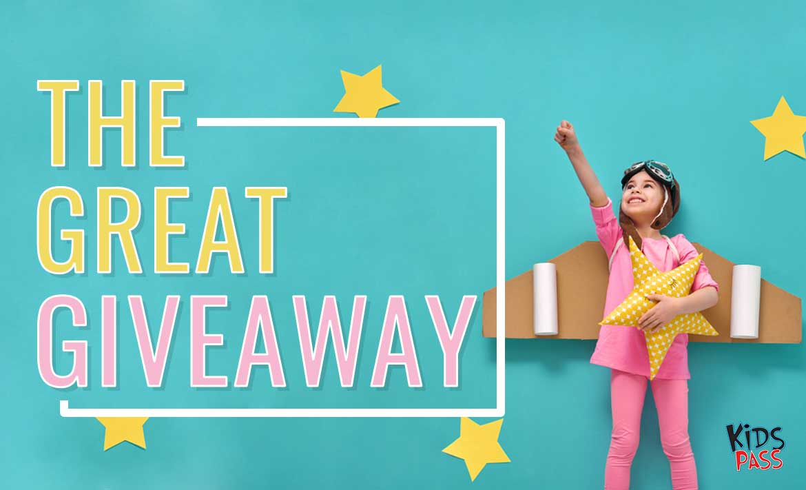The Great Giveaway header image