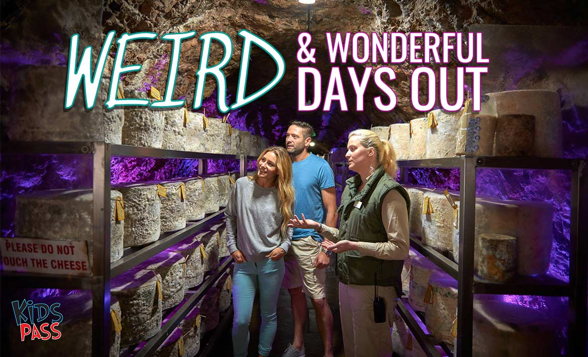 The UK's Weirdest & Most Wonderful Days Out for Families header image
