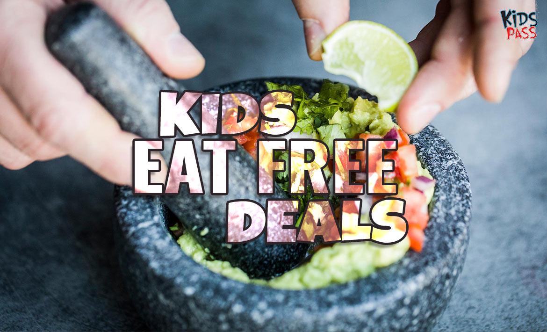 Top Kids Eat Free Deals this Summer header image