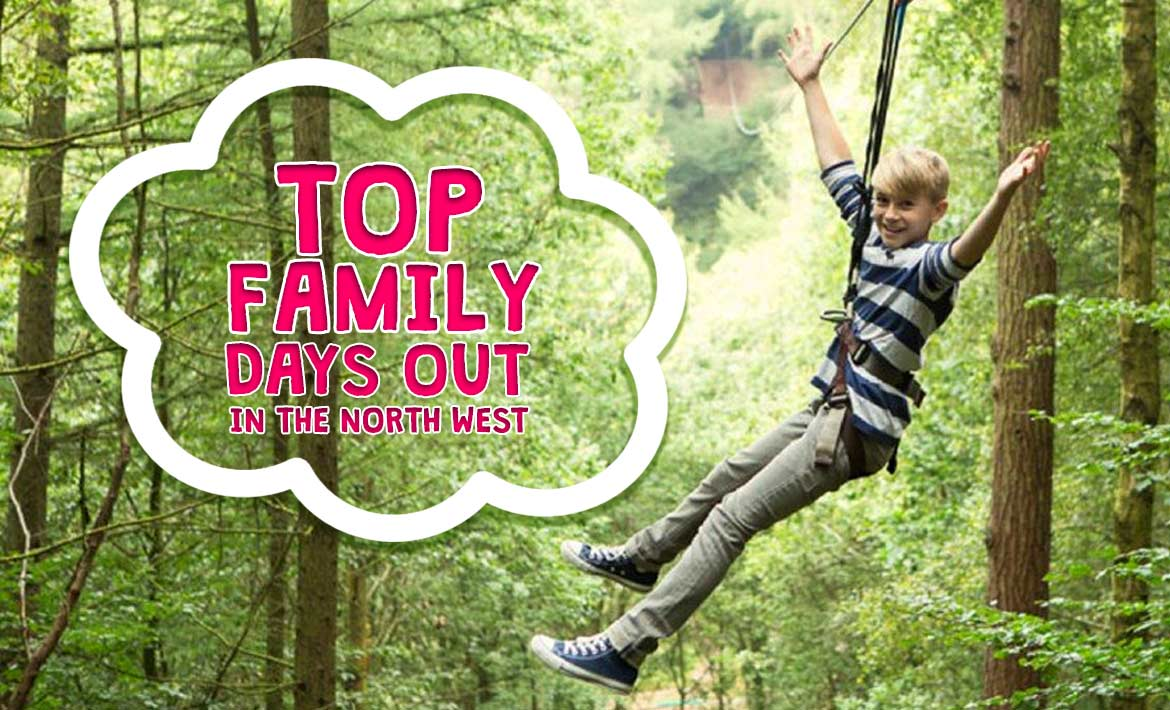 Top Family Days Out in the North West this Summer Holiday header image