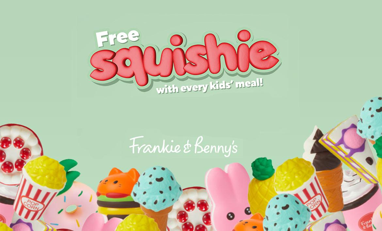 Freebies at Frankie & Benny's header image
