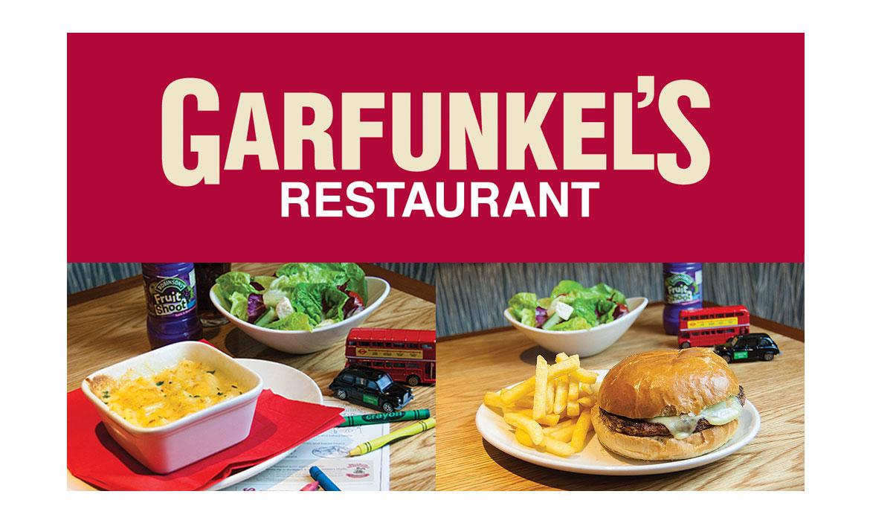 Kids Eat Free at Garfunkel's header image