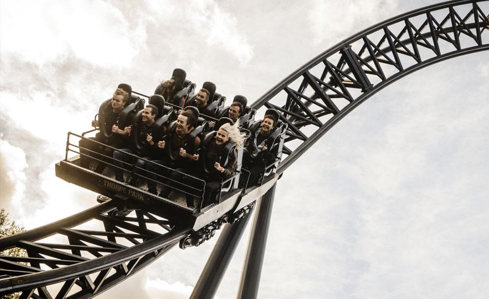 thorpe park very fast thrill seeker rollercoaster