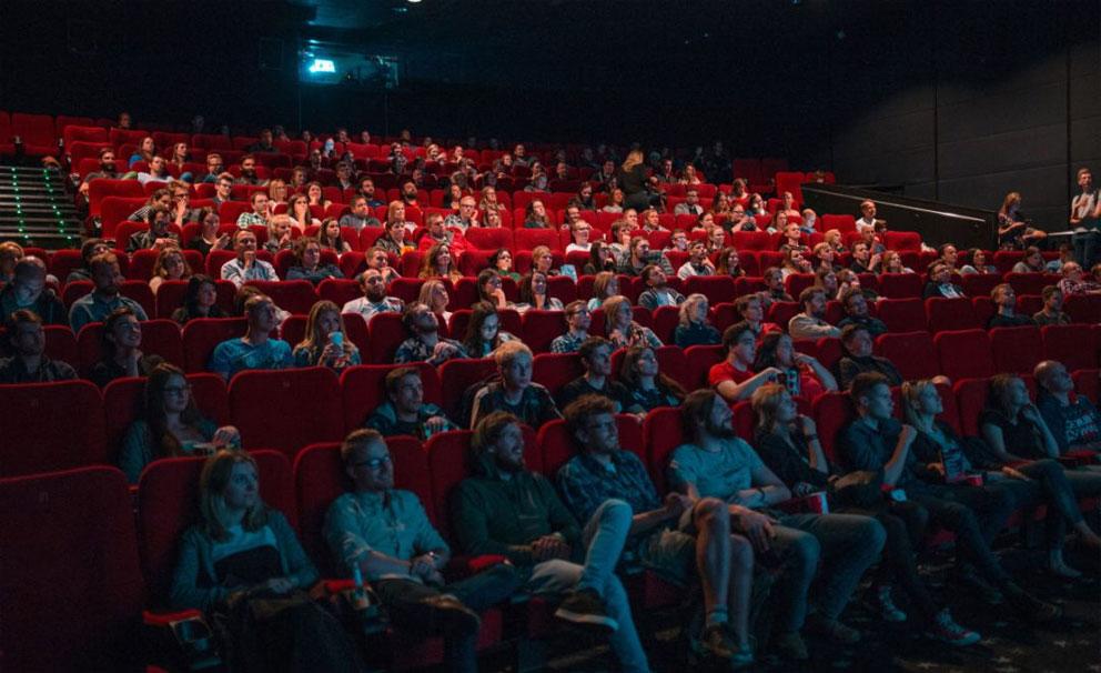 full cinema audience
