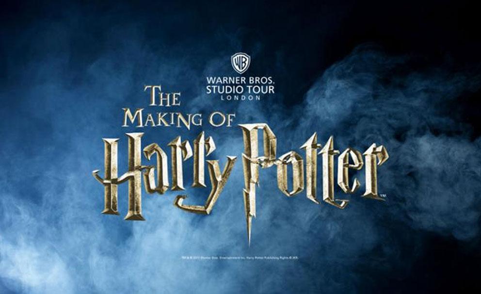making of harry potter logo