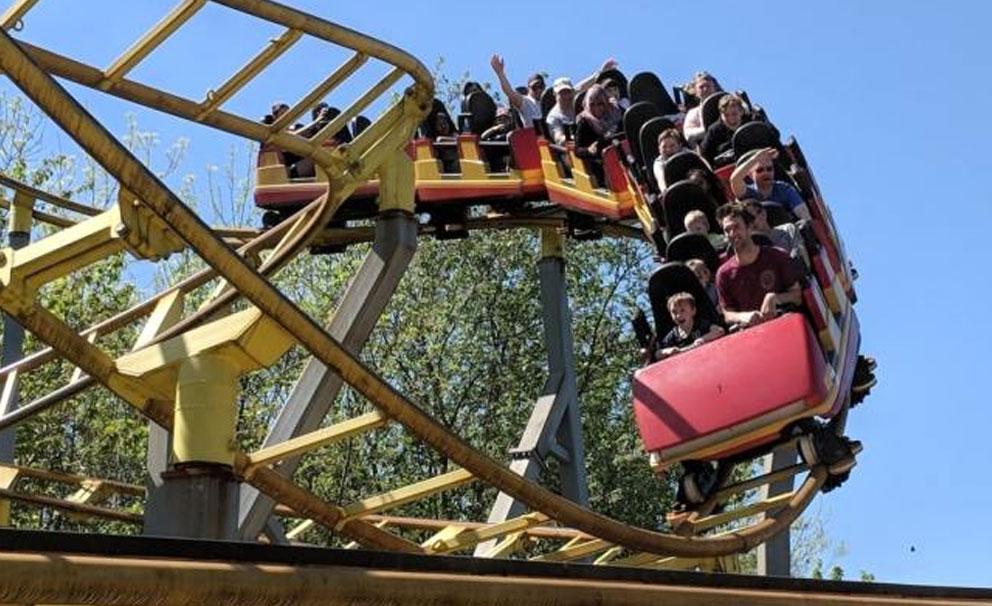 gullivers land rollercoaster