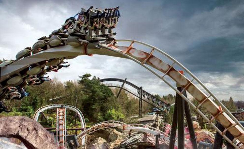 alton towers nemesis rollercoaster