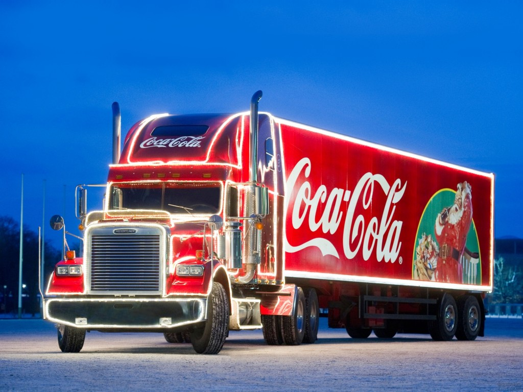 Coca Cola Truck Stops 2015 header image