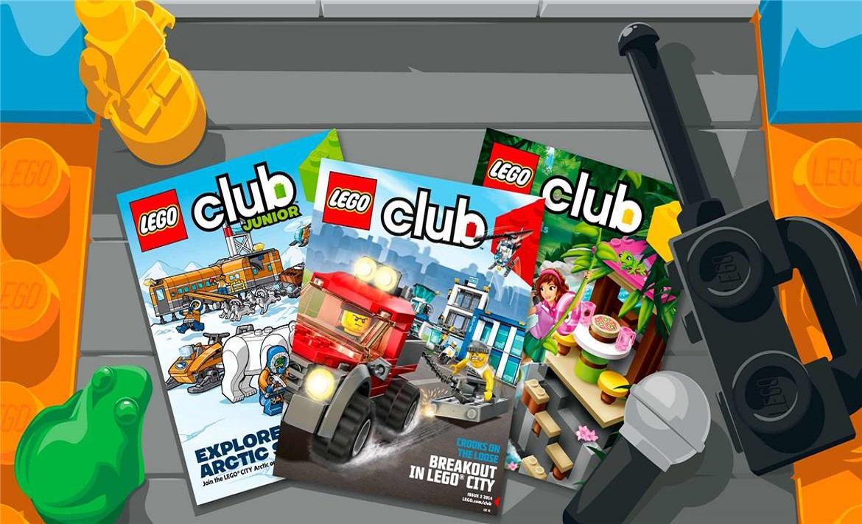 Free Lego Magazine header image