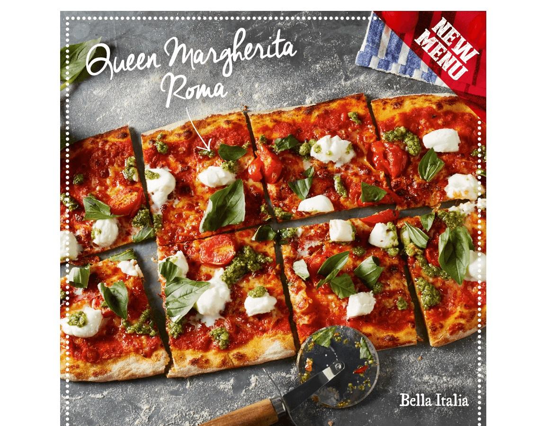 Bella Italia Newbury now open! Kids eat free with Bella Italia Nationwide! header image