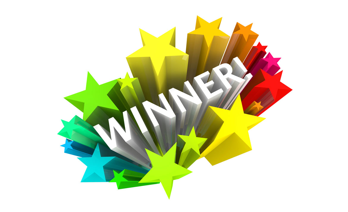 Competition Winners for May 2016 Face Book entries header image