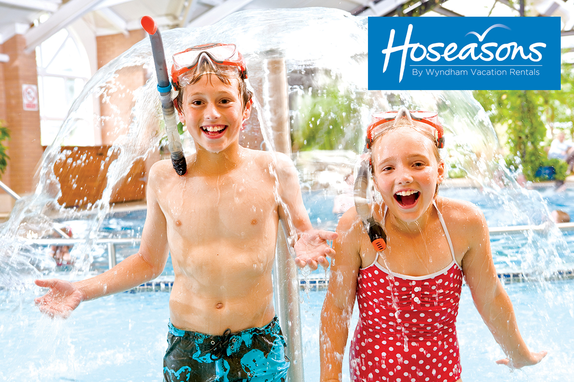 Hoseasons offer the widest choice of holiday parks with up to 10% off !! header image