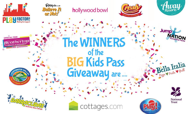 BIG Giveaway Winners Announcement! header image