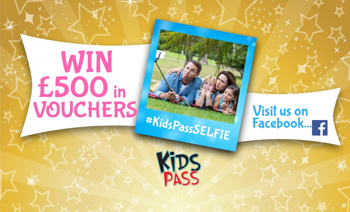 Kids Pass May Giveaway £500 Vouchers! header image