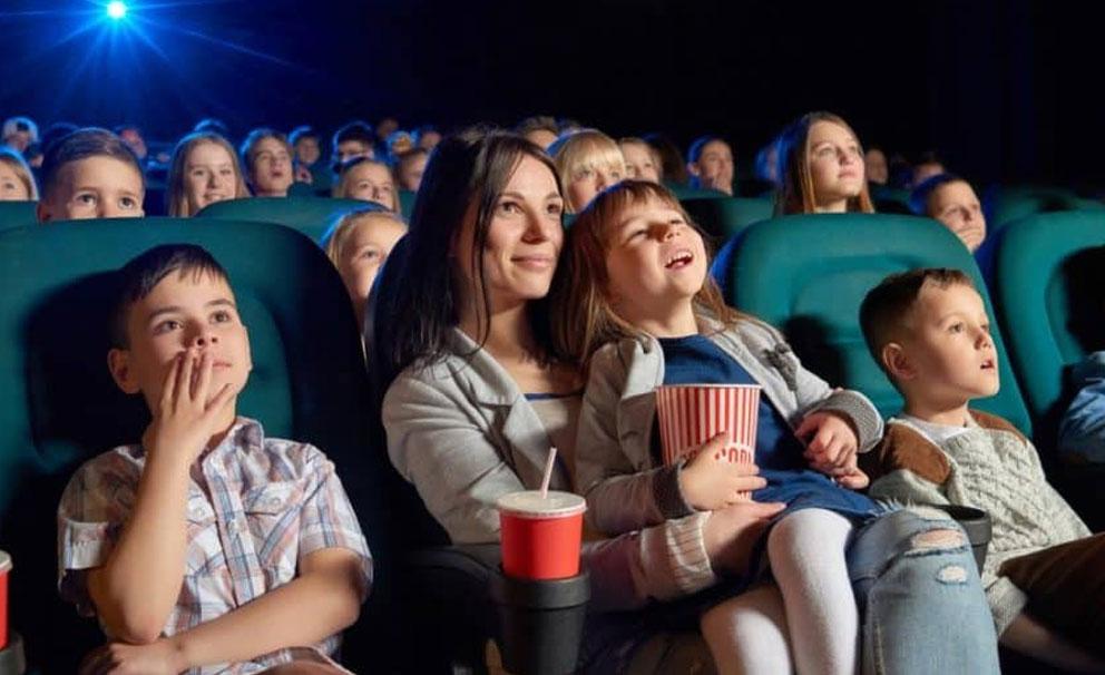 family in cinema