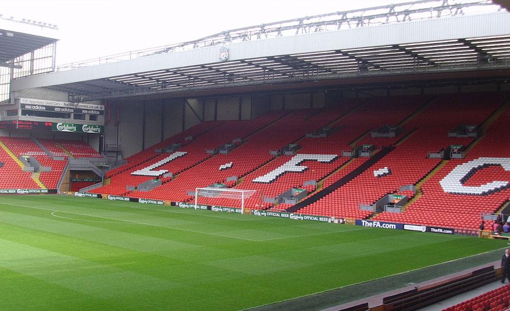 anfield stadium liverpool football club