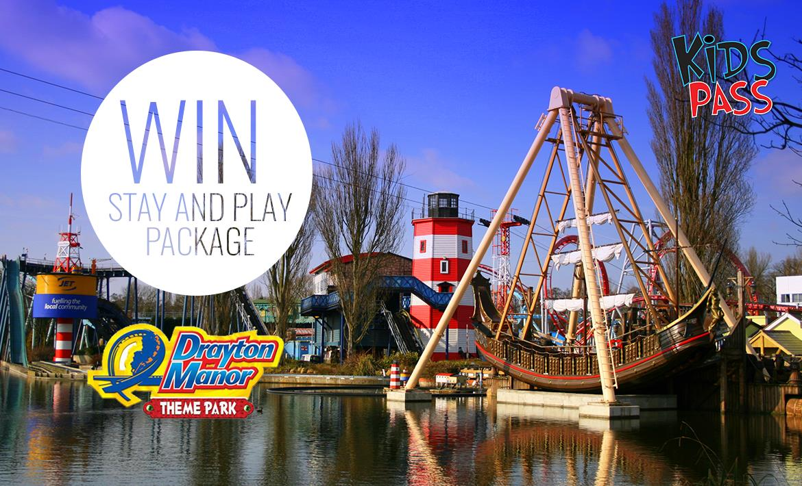 WIN a Drayton Manor Stay & Play Package header image