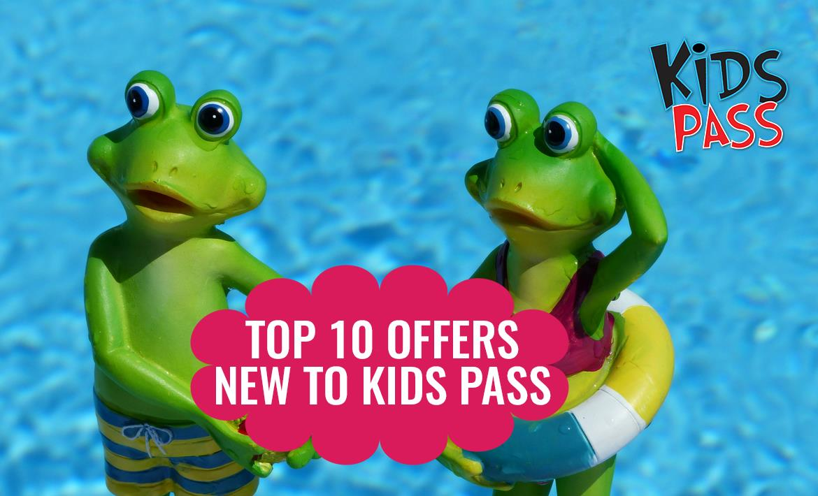 Top 10 Days Out in August with Kids Pass header image