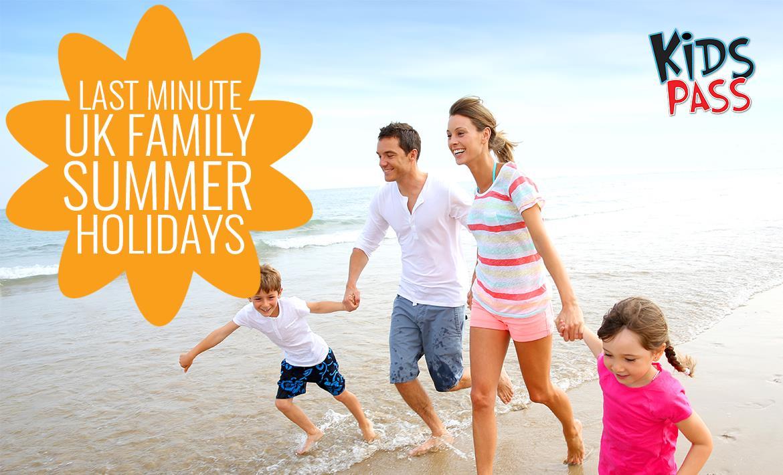 Last Minute UK Family Summer Holidays header image