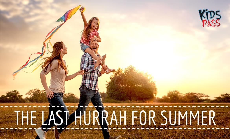 Last Hurrah for Summer header image