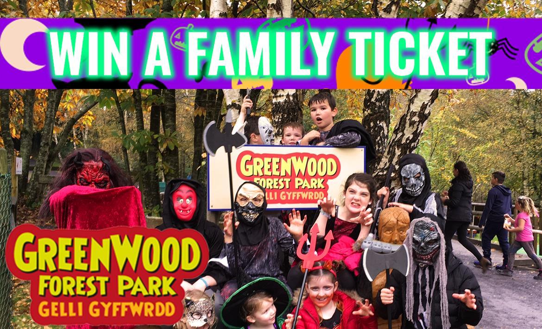 Get Spooky at GreenWood Forest Park header image