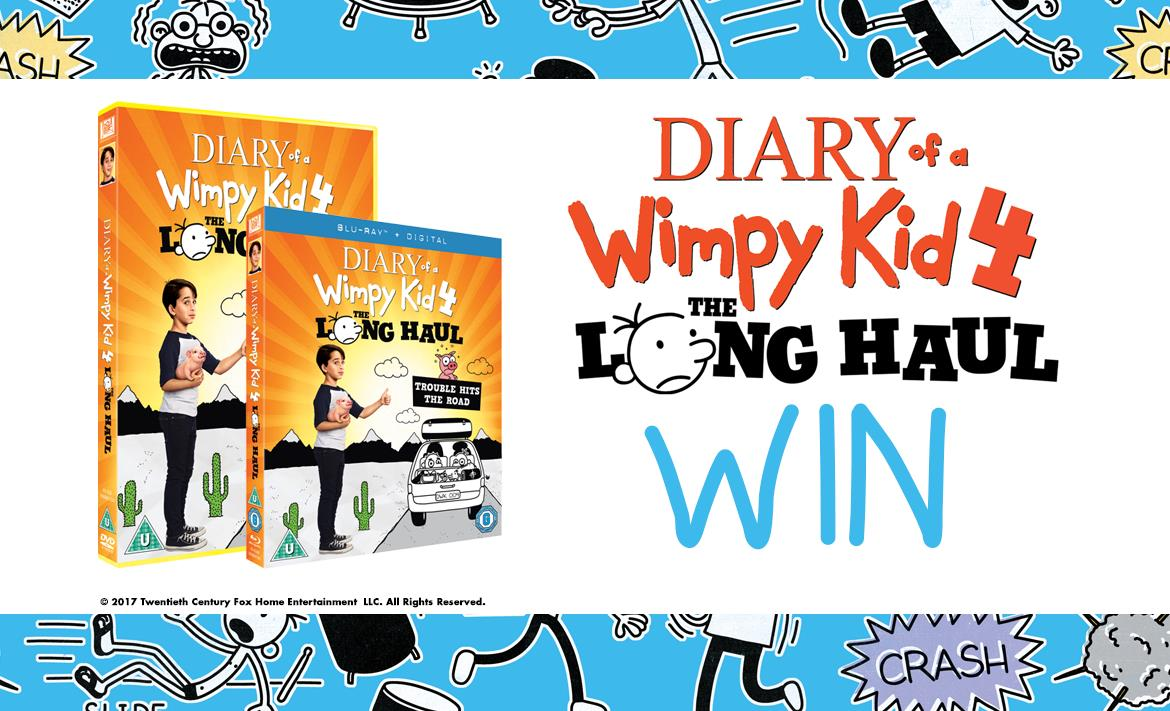 WIN Diary Of A Wimpy Kid 4: The Long Haul Goodies header image