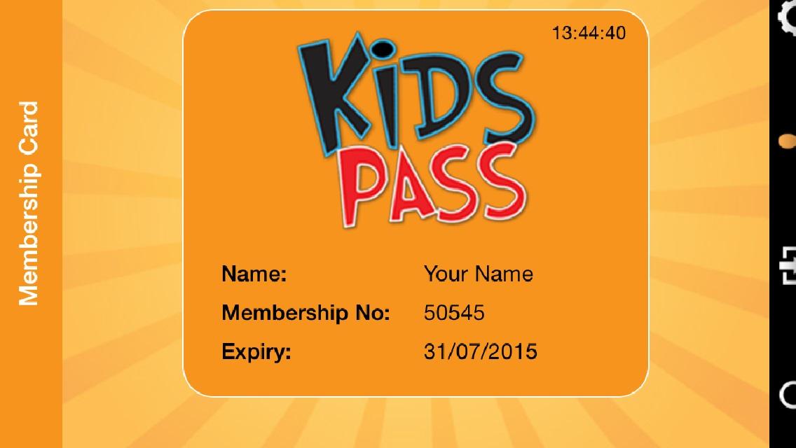 Kids Pass Membership Update header image